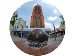 Smartphone Fisheye Fotografie - Stadt