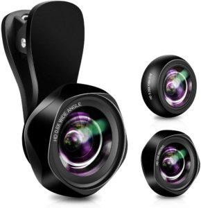 Evershop 3 in 1 Handy Objektiv Kamera Linse im Smartphone Objektive Test