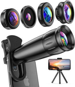 LIERONT Handy Objektiv Kamera Kit im Smartphone Objektive Test