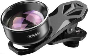 Apexel HD Camera Lens 2X Teleobjektiv