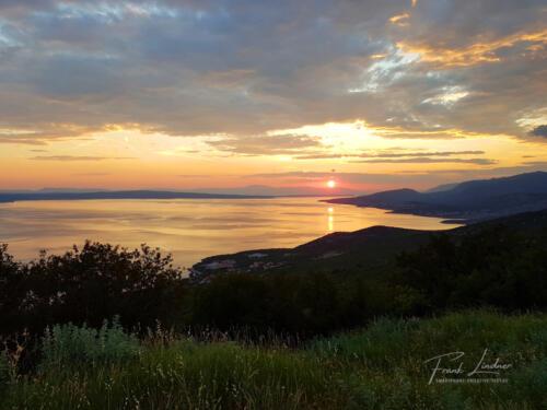 Sonnenuntergang Adria - Smartphone-Foto