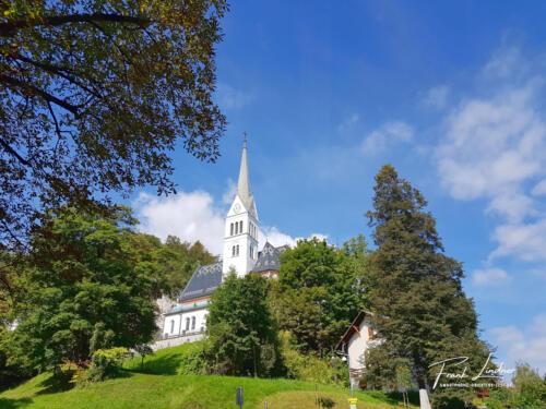 Kirche Bled - Smartphone-Foto