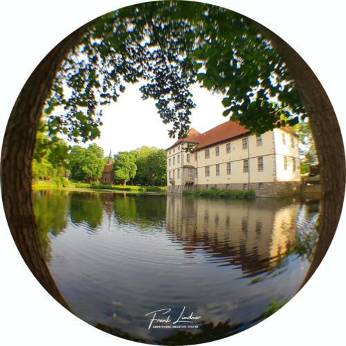 Schloss Herne - Smartphone Fisheye-Foto
